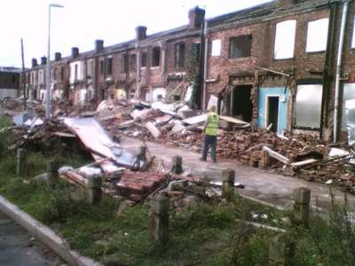 Manchester demolition
