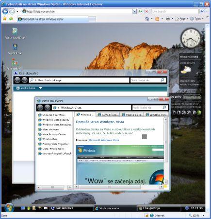 Vista.si WPF/E aplikace